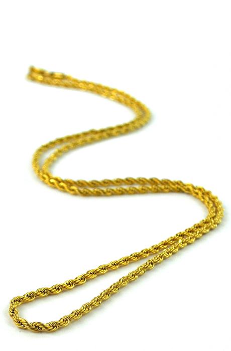GoldGods Rope Chain