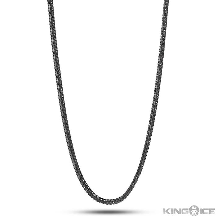 KingIce Black Rhodium Chain